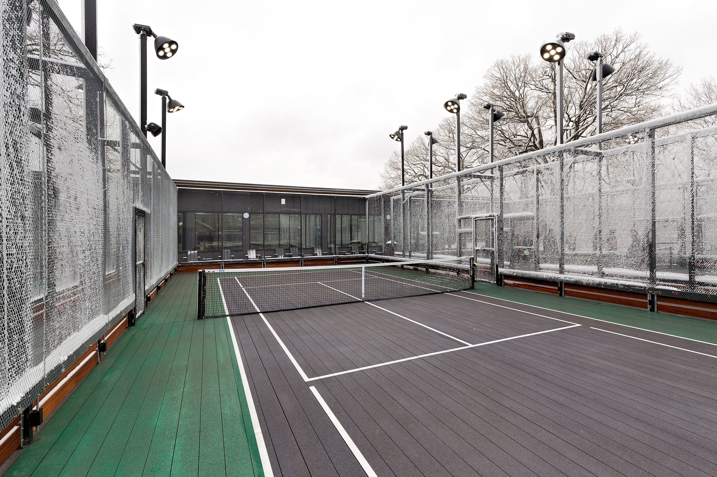 Birchwood  Birchwood Paddle Tennis Club, Highland Park, IL